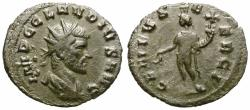 Ancient Coins - CLAUDIUS II GOTHICUS. BILLON ANTONINIANUS. GENIUVS EXERCI. WELL CENTERED