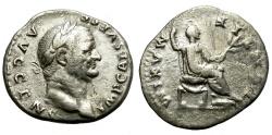 Ancient Coins - VESPASIANUS. 69-79 AD. SILVER DENARIUS. AFFORDABLE.