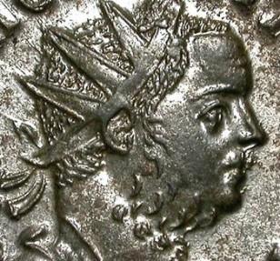 Ancient Coins - TACITUS. AE ANTONINIAN. EF. LUGDUNUM. GREAT CONDITION. FANTASTIC PORTRAIT !