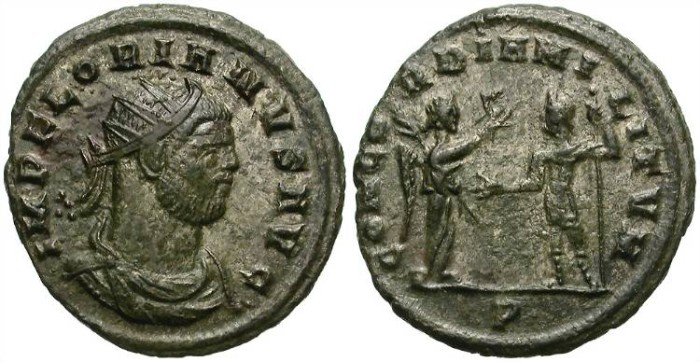 Ancient Coins - FLORIAN. AD 276, AE ANTONINIANUS. GOOD GENERAL CONDITION. ATTRACTIVE.