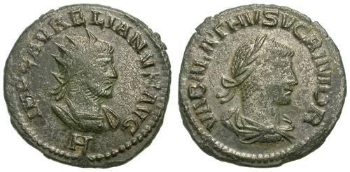 Ancient Coins - VABALATHUS AND AURELIAN. ANTONINIAN. NICE ISSUE !