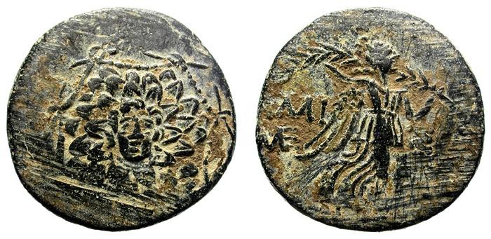 Ancient Coins - PONTOS, AMISOS. (85-65 BC) AE.