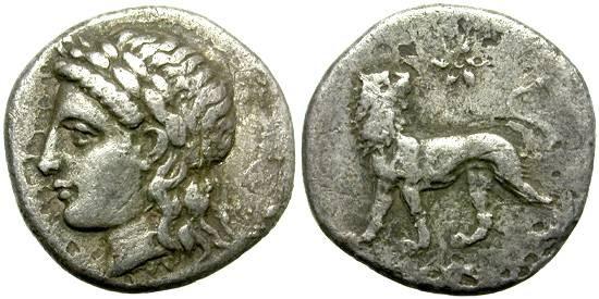 Ancient Coins - MILET, IONIA. SILVER  HEMIDRACHM.  ATTRACTIVE  PIECE.