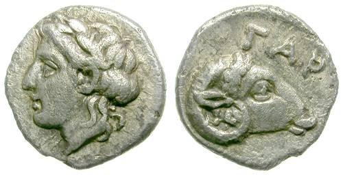 Ancient Coins - GARGARA, TROAS. RARE OBOL. WONDERFUL AND DELICATE MINIATURIZED COIN!