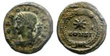 Ancient Coins - AE FOLLIS. POP ROMANVS. CONSTANTINIPOLIS MINT. SCARCE. NICE LITTLE COIN