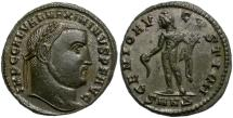 Ancient Coins - MAXIMINUS II. FOLLIS. NICE PIECE.