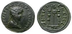 Ancient Coins - GALLIENUS. 253-268 AD AE 22. ROME ANTIOCH IN PISIDIA.