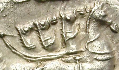 Ancient Coins - ROMAN REPUBLIC. SILVER DENARIUS. L.MANLIUS-L. SULLA. DIFFERENT QUADRIGA DEPICTION