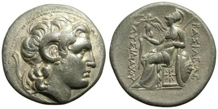 Ancient Coins - LYSIMACHOS, TETRADRACHM. NICE STYLE: SO ELEGANT PORTRAIT