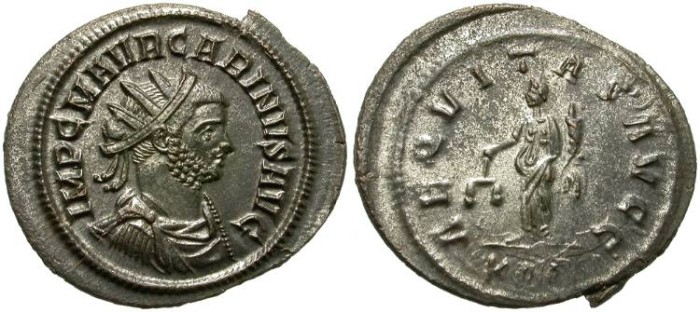 Ancient Coins - CARINUS. AE ANTONINIANUS. ATTRACTIVE PORTRAIT. SO GOOD CONDITION