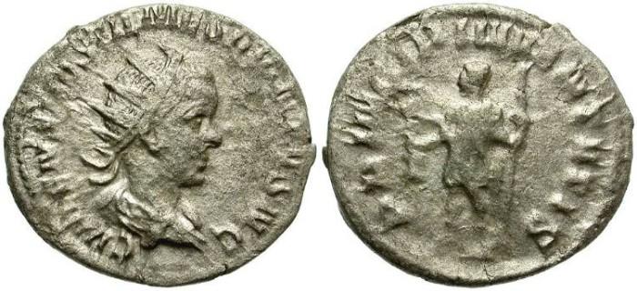 Ancient Coins - HOSTILIAN. SILVER ANTONINIANUS: ROME MINT. SCARCE &  AFFORDABLE