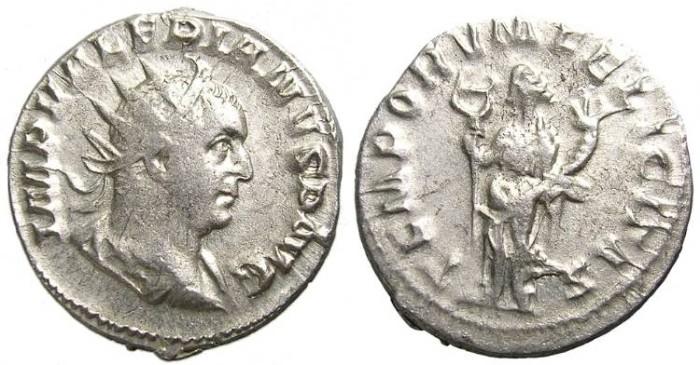 Ancient Coins - VALERIAN  I   ANTONINIANUS. GOOD  SILVER.