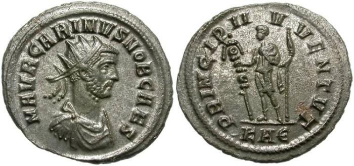 Ancient Coins - CARINUS. AS CAESAR. BILLON ANTONINIANUS. NICE CONDITION