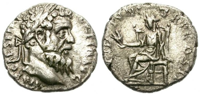 Ancient Coins - PERTINAX. SILVER DENARIUS. RARE EMPEROR. GOOD PRICE