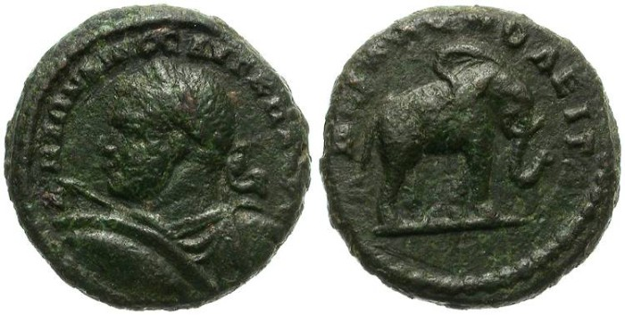Ancient Coins - ROMA PROVINCIAL. HADRIANAPOLIS. CARACALLA. 198-217 AD. AE PROVINCIAL. GOOD GENERAL CONDITION.