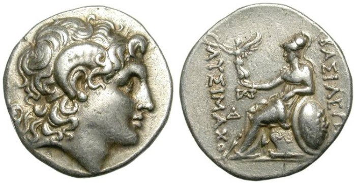 Ancient Coins - LYSIMACHUS. TETRADRACHM. GREAT CONDITION. NICE ISSUE