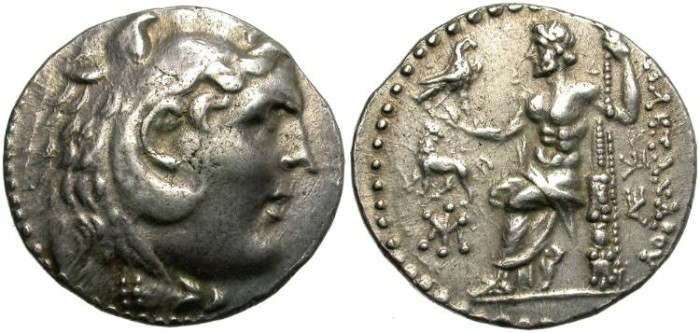 Ancient Coins - ALEXANDER THE GREAT. TETRADRACHM. MILET, IONIA.