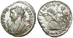 Ancient Coins - PROBUS. AE ANTONINIAN. NICE COIN. MOSTLY SILVERED. ROME MINT /1