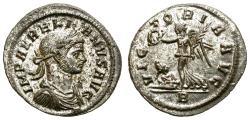 Ancient Coins - AURELIAN. BILLON DENARIUS, AD 270-275. ROME. GOOD CONDITION.