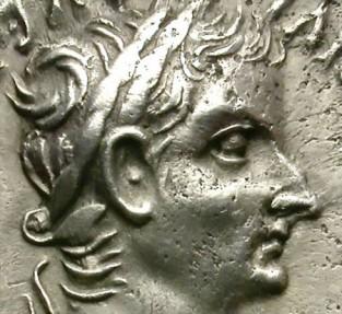 Ancient Coins - TIBERIUS. SILVER DENARIUS.