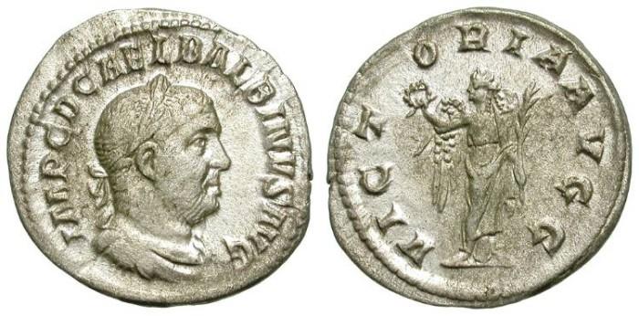 Ancient Coins - BALBINUS. DENAR. NICE ISSUE. VERY ATTRACTIVE