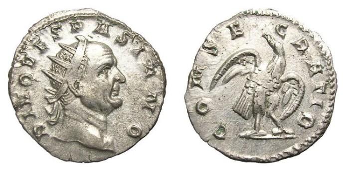 """Ancient Coins - VESPASIAN  ANTONINIANUS.  """"DIVO VESPASIANO"""".  VERY  SCARCE."""
