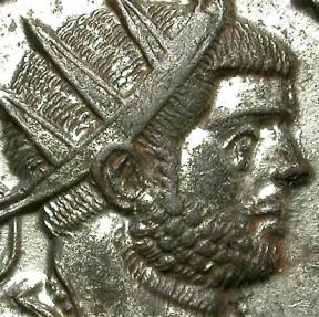 Ancient Coins - CARINUS. BILLON ANTONINIANUS. TICINUM MINT. NICE DRAPPED BUST.