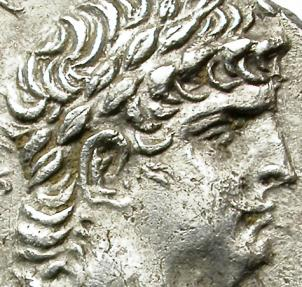Ancient Coins - NERO WITH DIVUS CLAUDIUS. 54-68 AD. AR DIDRACHM. VERY NICE PORTRAITS.