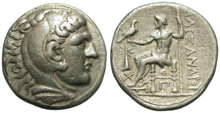 Ancient Coins - ALEXANDER. TETRADRACHM. URANOPOLIS. NICE ISSUE