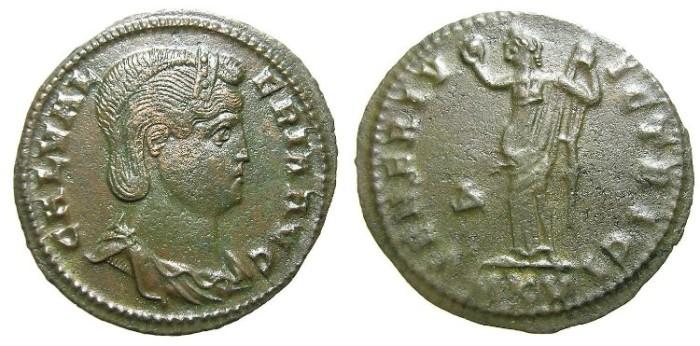 Ancient Coins - GALERIA  VALERIA,  W.  OF  GALERIUS.