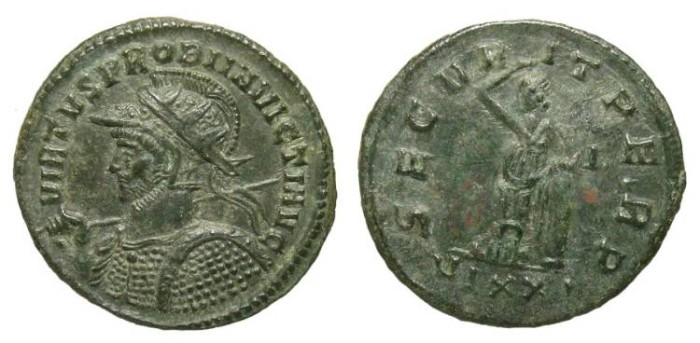 Ancient Coins - PROBUS. ANTONINIAN. INVICTUS TITULAIRE. TICINUM. PART OF THE EQVITI SERIES