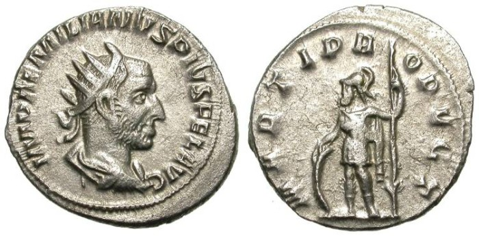 Ancient Coins - AEMILIAN. AG ANTONINIAN. VERY NICE CONDITION