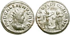 Ancient Coins - GALLIENUS. ANTONINIANUS. AD 256-257. ASIA. ANTIOCH MINT. INTERESTING.