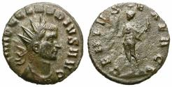 "Ancient Coins - CLAUDIUS II GOTHIC. BILLON ANTONINIAN. ""GENIVS EXERCI"". RARE ISSUE !"