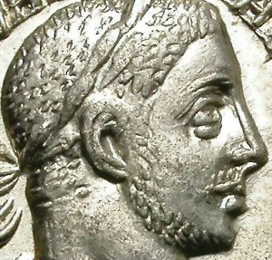 Ancient Coins - SEVERUS ALEXANDER. SILVER DENARIUS. EF+ WITH MUCH LUSTER