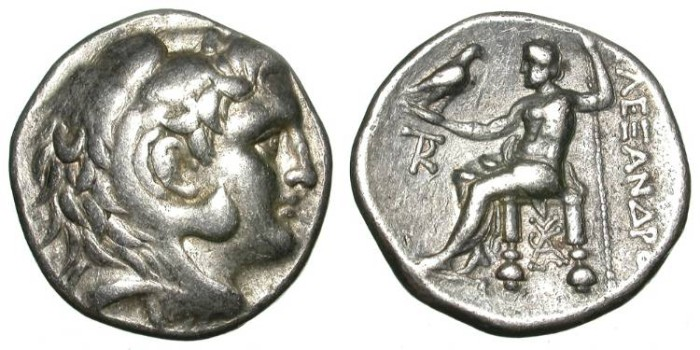 Ancient Coins - ALEXANDER THE GREAT. TETRADRACHM. PELLA. NICE AND AFFORDABLE