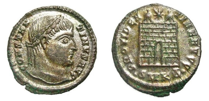 Ancient Coins - CONSTANTINUS I  AE.  GREAT  QUALITY.