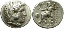 Ancient Coins - SELEUKOS I. SILVER TETRADRACHM. ALEXANDER´S GENERAL. SARDES MINT