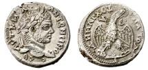Ancient Coins - CARACALLA. AR TETRADRACHM. ANTIOCH. AD 215-217. FANTASTIC CONDITION