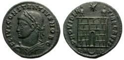 Ancient Coins - CONSTANTIUS II. AS CAESAR. FOLLIS. ARELATE MINT. SCARCE. NICE COIN.