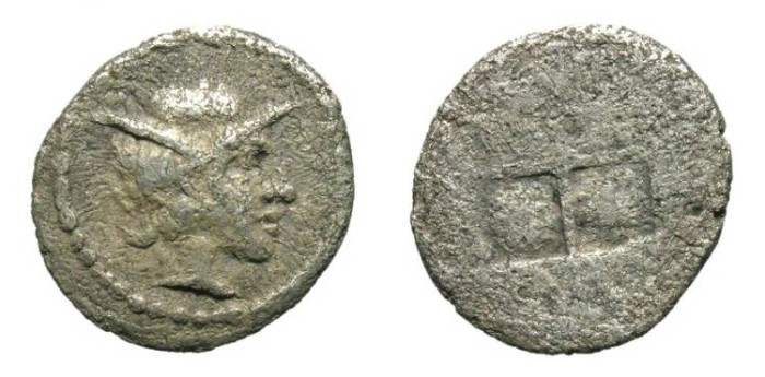 Ancient Coins - ALEXANDER I of MACEDON. FRACTIONAL SILVER. NICE !