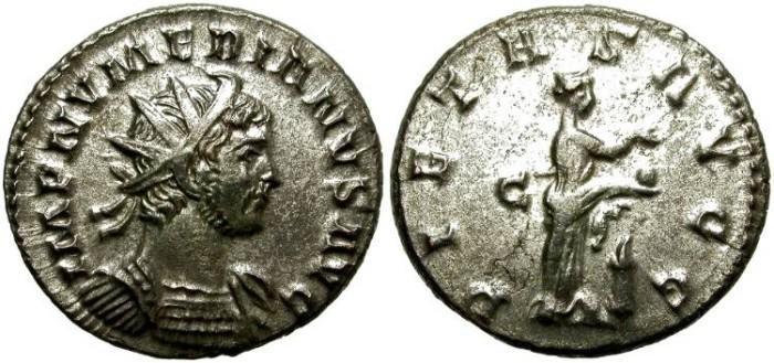 Ancient Coins - NUMERIAN.  AE ANTONINIANUS. TICINUM MINT.  NICE PORTRAIT.