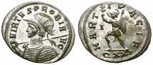 Ancient Coins - PROBUS. 276-282 AD. ANTONINIANUS. TICINUM. THIS COINS IS PART OF THE EQVITI SERIES.