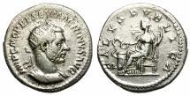 Ancient Coins - MACRINUS. SILVER ANTONINIANUS. RARE DENOMINATION