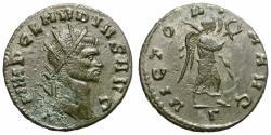 Ancient Coins - CLAUDIUS II GOTHICUS. BILLON ANTONINIAN. MEDIOLANUM. NICE STRIKE