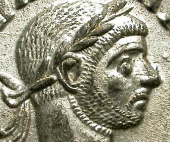 Ancient Coins - AURELIAN. AE DENAR. FULL SILVERING. FANTASTIC QUALITY !