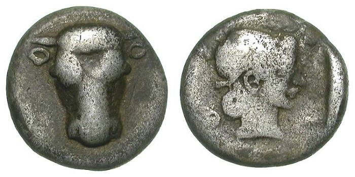 Ancient Coins - PHOKIS. HEMIDRACHM. A VF. ATTRACTIVE & AFFORDABLE SPECIMEN