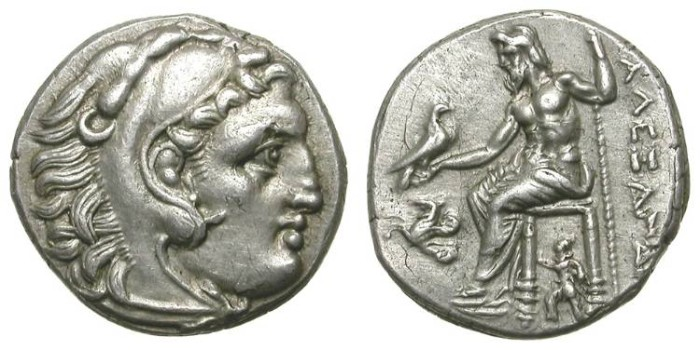 Ancient Coins - ALEXANDER THE GREAT. DRACHM. EF. SUCH A NICE ISSUE !