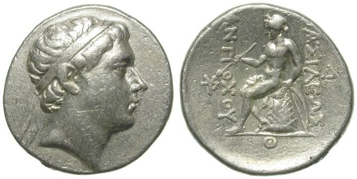 Ancient Coins - ANTIOCHOS III THE GREAT. TETRADRACHM. NISSIBIS.