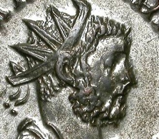 Ancient Coins - CARINUS. AE ANTONINIAN. LUGDUNUM. NICE PORTRAIT. FANTASTIC CONDITION !